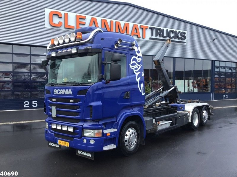 Abrollcontainer of the type Scania R 480 Euro 5 Manual, Gebrauchtmaschine in ANDELST (Picture 1)