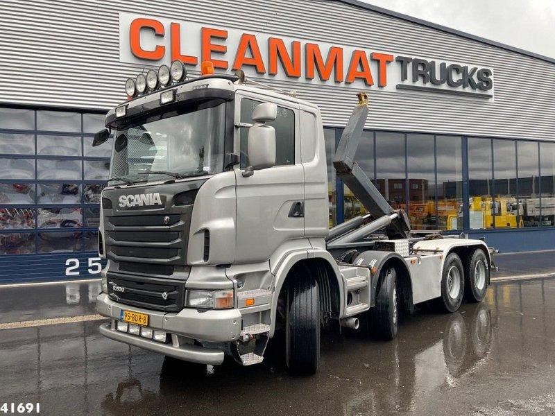 Abrollcontainer tipa Scania R 500 V8 8x4 Euro 5 Manual, Gebrauchtmaschine u ANDELST (Slika 1)