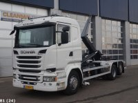 Scania R 520 6x2 V8 Euro 6 Abrollcontainer