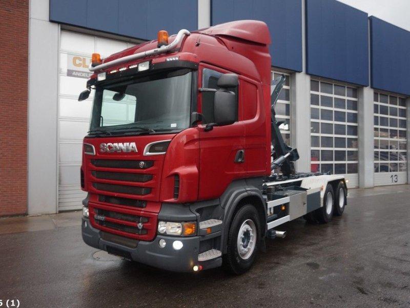 Abrollcontainer типа Scania R 620 6x4 V8 Retarder, Gebrauchtmaschine в ANDELST (Фотография 1)