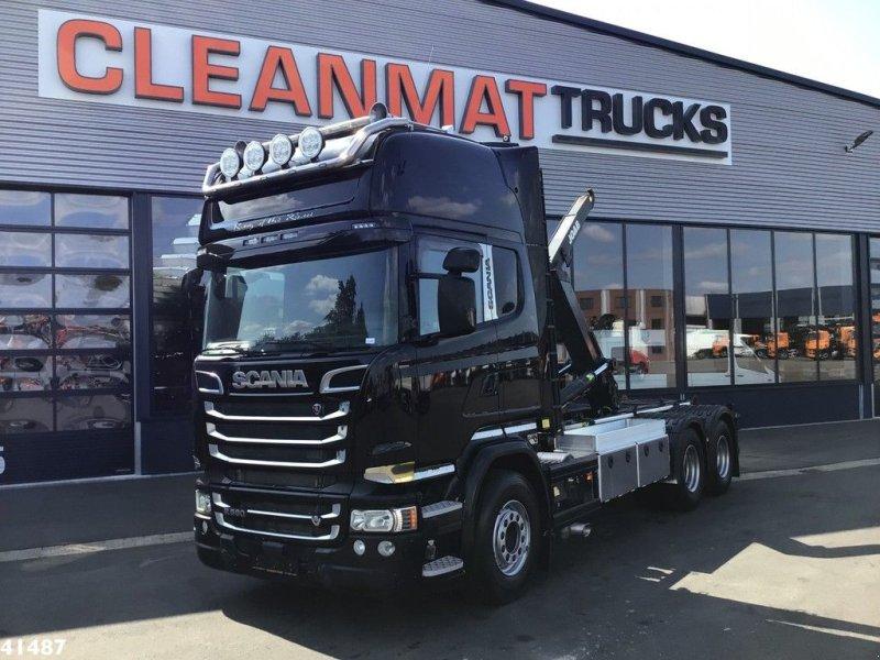"Abrollcontainer типа Scania R580 V8 Euro 6 Retarder ""King of the Road"", Gebrauchtmaschine в ANDELST (Фотография 1)"