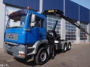 Sonstige M.A.N. TGA 26.360 DFL 6x4 met Palfinger 16 ton/meter laadkraan Abrollcontainer
