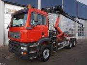 Abrollcontainer des Typs Sonstige M.A.N. TGA 33.413 6x4 Hiab 16 ton/meter laadkraan, Gebrauchtmaschine in ANDELST