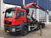 Abrollcontainer tip Sonstige M.A.N. TGS 35.440 8x4 Hiab 20 ton/meter laadkraan, Gebrauchtmaschine in ANDELST