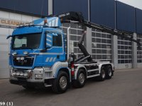 Sonstige M.A.N. TGS 35.440 BB 8x4 Copma 36 ton/meter laadkraan (Bouwjaar 2015) Abrollcontainer