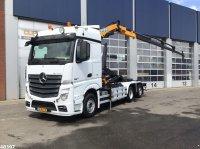 Sonstige Mercedes Benz ACTROS 2542 Euro 6 Effer 14 ton/meter laadkraan Containere cu role