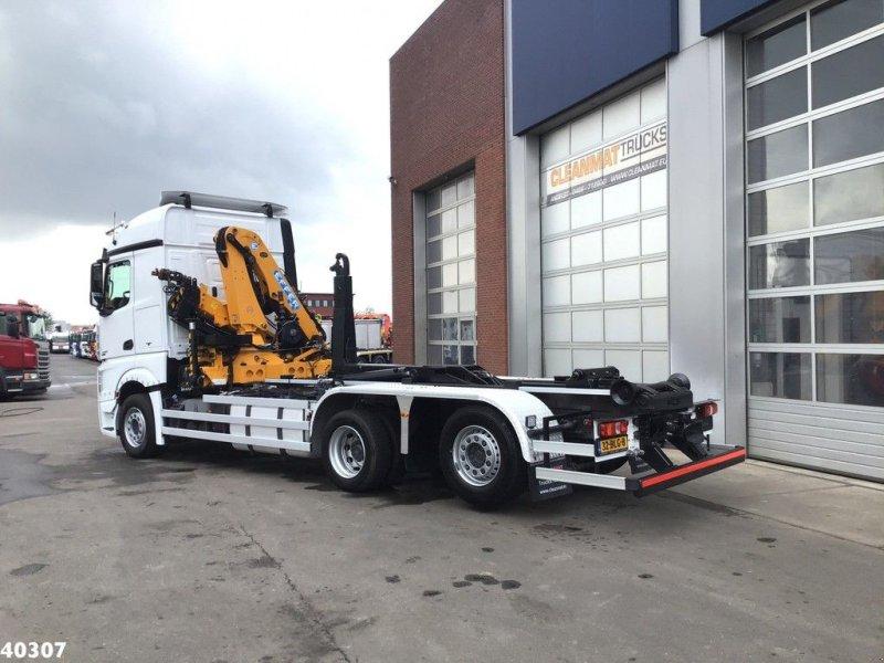 Abrollcontainer tip Sonstige Mercedes Benz ACTROS 2542 Euro 6 Effer 14 ton/meter laadkraan, Gebrauchtmaschine in ANDELST (Poză 3)