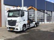 Abrollcontainer tip Sonstige Mercedes Benz ACTROS 2542 Euro 6 Effer 14 ton/meter laadkraan, Gebrauchtmaschine in ANDELST