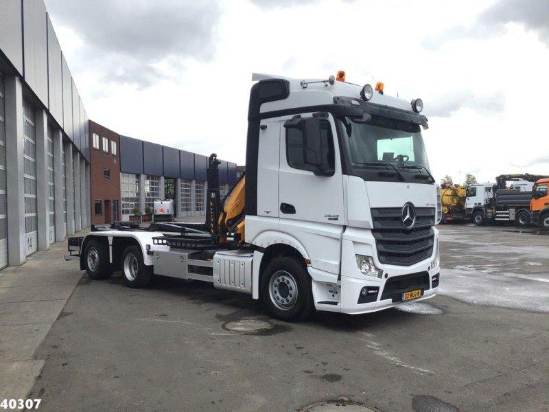 Abrollcontainer tip Sonstige Mercedes Benz ACTROS 2542 Euro 6 Effer 14 ton/meter laadkraan, Gebrauchtmaschine in ANDELST (Poză 6)