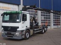 Sonstige Mercedes Benz Actros 2544 6x2 Hiab 16 ton/meter laadkraan Abrollcontainer