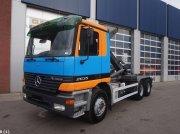 Abrollcontainer des Typs Sonstige Mercedes Benz Actros 2635 6x4 Manual Full steel, Gebrauchtmaschine in ANDELST