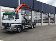 Abrollcontainer typu Sonstige Mercedes Benz Actros 2635 Palfinger 24 ton/meter + JIB, Gebrauchtmaschine w ANDELST