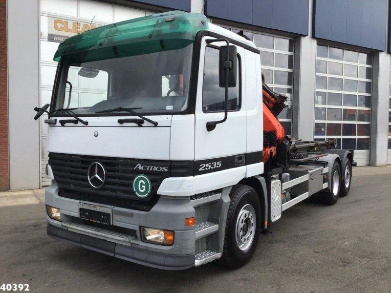 Abrollcontainer typu Sonstige Mercedes Benz Actros 2635 Palfinger 24 ton/meter + JIB, Gebrauchtmaschine w ANDELST (Zdjęcie 2)