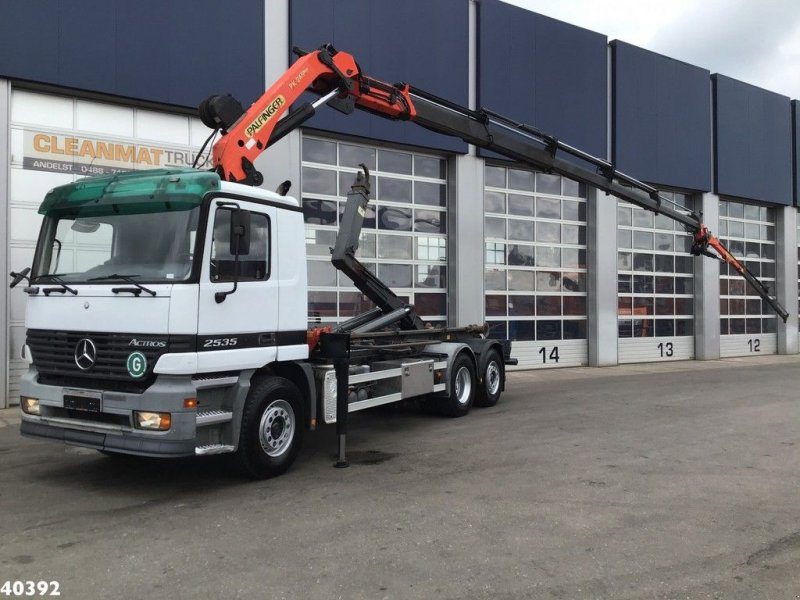 Abrollcontainer of the type Sonstige Mercedes Benz Actros 2635 Palfinger 24 ton/meter + JIB, Gebrauchtmaschine in ANDELST (Picture 1)