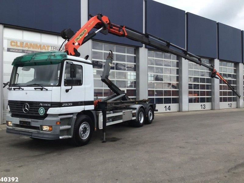 Abrollcontainer typu Sonstige Mercedes Benz Actros 2635 Palfinger 24 ton/meter + JIB, Gebrauchtmaschine w ANDELST (Zdjęcie 1)