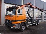 Sonstige Mercedes Benz Actros 2640 6x4 Atlas 16 ton/meter laadkraan Abrollcontainer