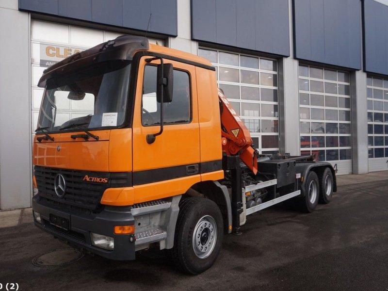 Abrollcontainer des Typs Sonstige Mercedes Benz Actros 2640 6x4 Atlas 16 ton/meter laadkraan, Gebrauchtmaschine in ANDELST (Bild 5)