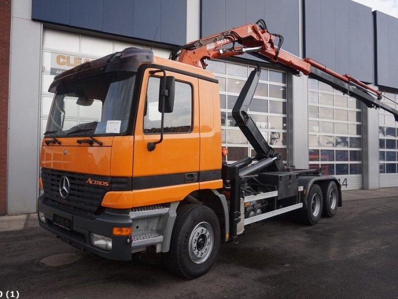 Abrollcontainer des Typs Sonstige Mercedes Benz Actros 2640 6x4 Atlas 16 ton/meter laadkraan, Gebrauchtmaschine in ANDELST (Bild 1)