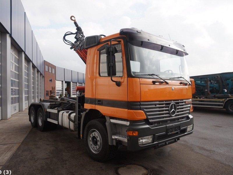 Abrollcontainer des Typs Sonstige Mercedes Benz Actros 2640 6x4 Atlas 16 ton/meter laadkraan, Gebrauchtmaschine in ANDELST (Bild 4)