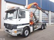 Sonstige Mercedes Benz Actros 2640 6x4 Met Palfinger 14 ton/meter laadkraan Съемный контейнер
