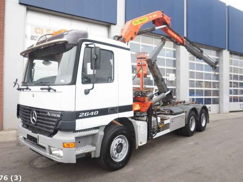Abrollcontainer of the type Sonstige Mercedes Benz Actros 2640 6x4 Palfinger 14 ton/meter laadkraan, Gebrauchtmaschine in ANDELST (Picture 1)