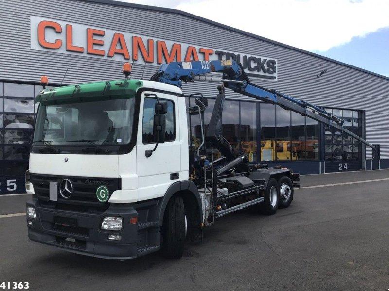 Abrollcontainer типа Sonstige Mercedes Benz Actros 2641 HMF 13 ton/meter laadkraan, Gebrauchtmaschine в ANDELST (Фотография 1)