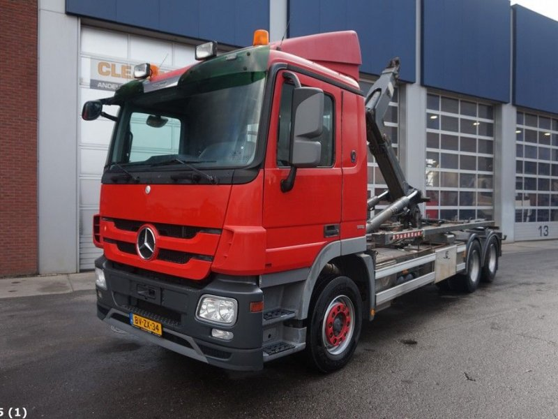 Abrollcontainer of the type Sonstige Mercedes Benz ACTROS 2644 6x4, Gebrauchtmaschine in ANDELST (Picture 1)