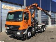 Abrollcontainer typu Sonstige Mercedes Benz Actros 3336 6x4 Terex 10 ton/meter laadkraan, Gebrauchtmaschine w ANDELST