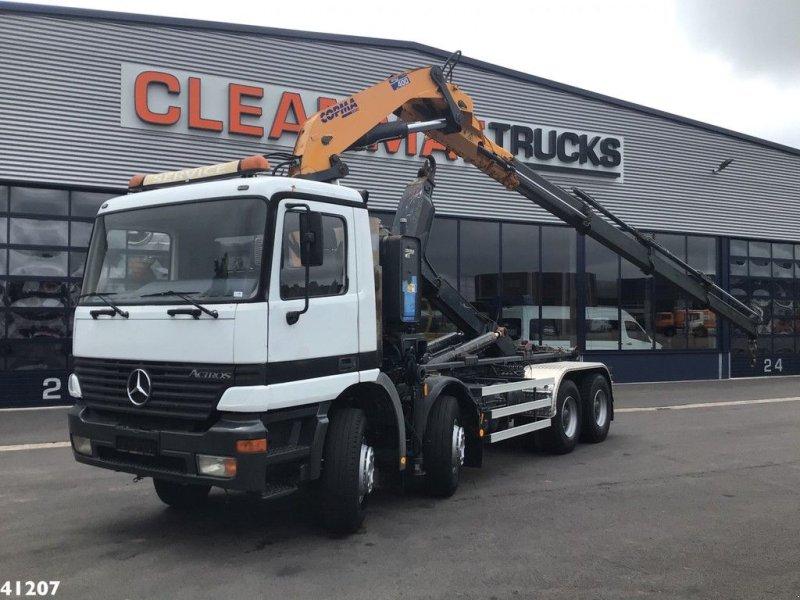 Abrollcontainer des Typs Sonstige Mercedes Benz Actros 4140 8x4 Copma 40 ton/meter laadkraan (bouwjaar 2007!), Gebrauchtmaschine in ANDELST (Bild 1)