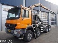 Sonstige Mercedes Benz Actros 4141 AK 8x8 Euro 5 HMF 16 ton/meter Z-kraan Kontener na kółkach