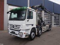 Sonstige Mercedes Benz Actros 4148 8x4 Hiab 16 ton/meter laadkraan Abrollcontainer