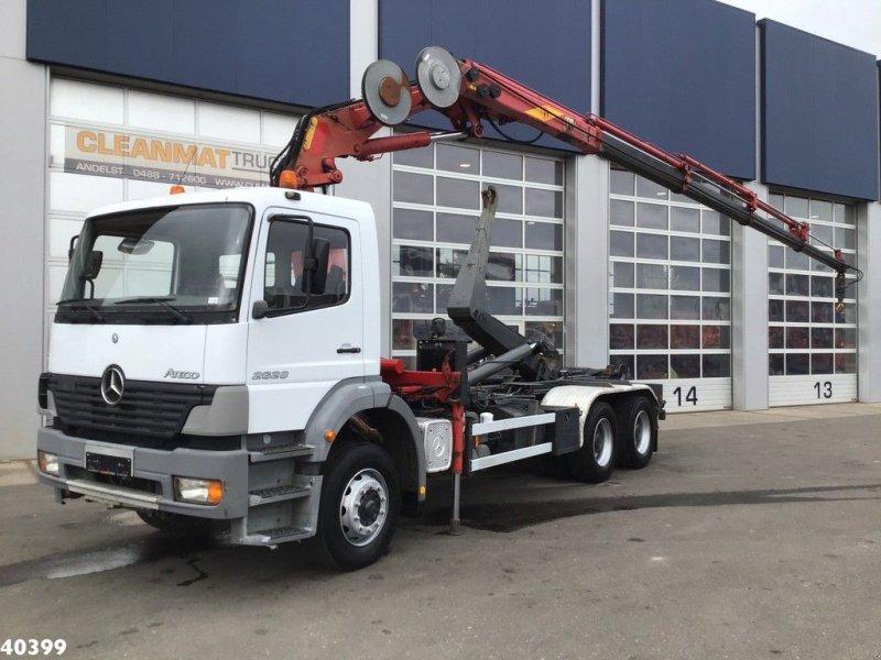 Abrollcontainer a típus Sonstige Mercedes Benz Atego 2628 6x4 Effer 17 ton/meter laadkraan, Gebrauchtmaschine ekkor: ANDELST (Kép 1)