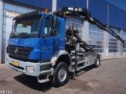Sonstige Mercedes Benz Axor 1832 4x4 HMF 18 ton/meter laadkraan Abrollcontainer