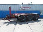 Abrollcontainer des Typs Veenhuis JVHA 30000 haakarm carrier tride, Gebrauchtmaschine in Joure