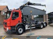 Abrollcontainer des Typs Volvo FE340 62R 6x2 Hiab 20 ton/m laadkraan, Gebrauchtmaschine in Vessem