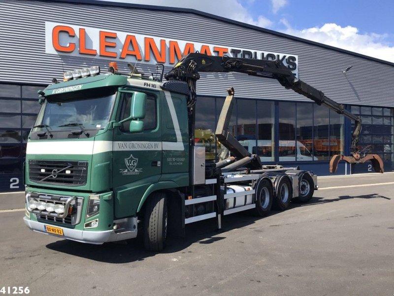 Abrollcontainer tip Volvo FH 16.540 8X4 Palfinger 17 ton/meter Z-kraan, Gebrauchtmaschine in ANDELST (Poză 1)