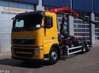 Volvo FH 420 6x2 Intarder HMF 9 ton/meter laadkraan Kontener na kółkach