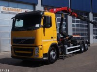 Volvo FH 420 6x2 Intarder HMF 9 ton/meter laadkraan Abrollcontainer