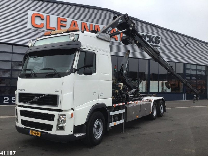 Abrollcontainer a típus Volvo FH 440 Hiab 24 ton/meter laadkraan, Gebrauchtmaschine ekkor: ANDELST (Kép 1)