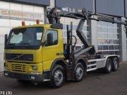 Volvo FM 12.340 HMF 22 ton/meter laadkraan Εμπορευματοκιβώτιο μεταφοράς