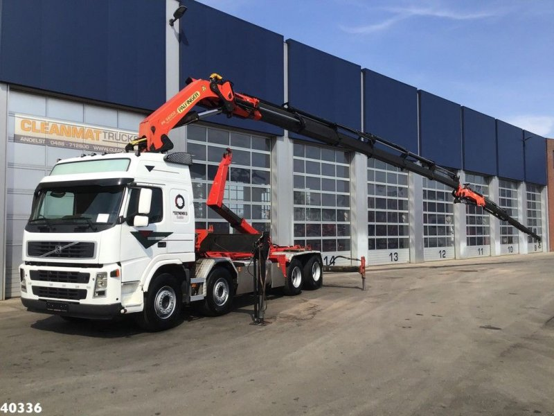Abrollcontainer a típus Volvo FM 12.420 Palfinger 56 ton/meter laadkraan + JIB, Gebrauchtmaschine ekkor: ANDELST (Kép 1)