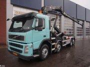 Volvo FM 370 Euro 5 EEV HMF 24 ton/meter laadkraan Kontener na kółkach