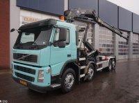 Volvo FM 370 Euro 5 EEV HMF 24 ton/meter laadkraan Abrollcontainer