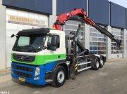 Abrollcontainer des Typs Volvo FM 370 HMF 22 ton/meter laadkraan, Gebrauchtmaschine in ANDELST