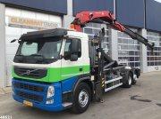 Abrollcontainer a típus Volvo FM 370 HMF 22 ton/meter laadkraan, Gebrauchtmaschine ekkor: ANDELST