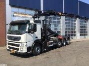 Abrollcontainer типа Volvo FM 370 HMF 24 ton/meter laadkraan, Gebrauchtmaschine в ANDELST