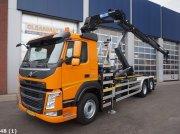 Volvo FM 410 Euro 6 HMF 23 ton/meter laadkraan Abrollcontainer