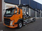 Volvo FM 410 Euro 6 HMF 23 ton/meter laadkraan Kontener na kółkach