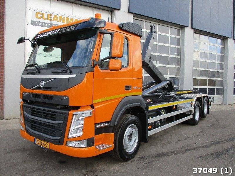 Abrollcontainer типа Volvo FM 410, Gebrauchtmaschine в ANDELST (Фотография 1)
