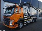 Abrollcontainer des Typs Volvo FM 420 8x2 Euro 6 HMF 26 ton/meter laadkraan в ANDELST